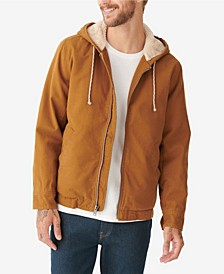 Men's Hooded Sherpa Jacket