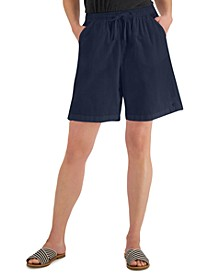 Petite Lila Drawstring Shorts, Created for Macy's