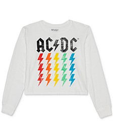 Juniors' ACDC Long-Sleeve T-Shirt