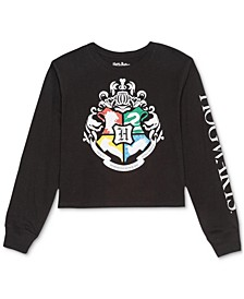 Juniors' Hogwarts Long-Sleeve T-Shirt