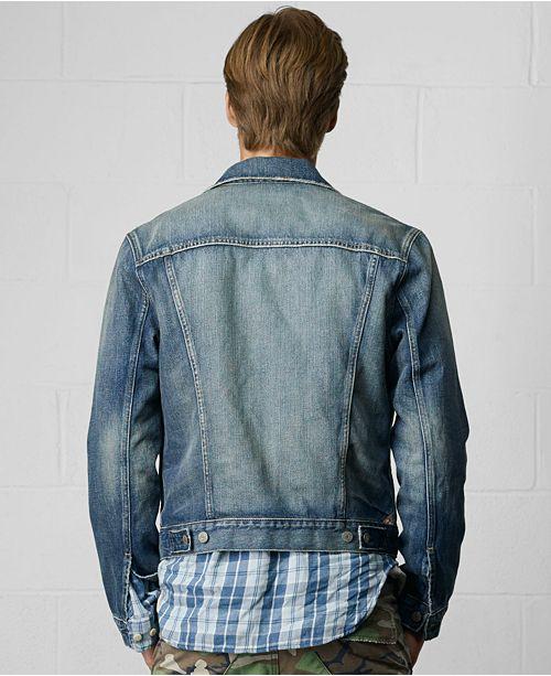 Denim   Supply Ralph Lauren Men s Denim Jacket   Reviews - Coats ... 0be44deb824d8