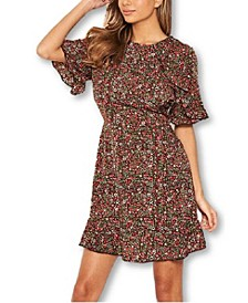 Women's Ditsy Floral Day Dress