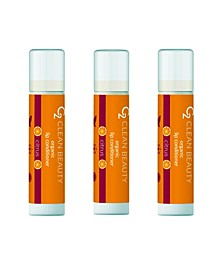 Women's Lip Conditioner Citrus, Pack of 3