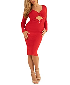 Gianna Cutout Ribbed Dress