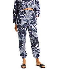 CULPOS X INC Tie-Dye Convertible Sweatpants, Created for Macy's