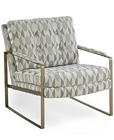 "Raevan 28"" Fabric Accent Chair, Created for Macy's"
