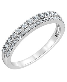Diamond Band Ring (1/4 ct. t.w.) in 14k White Gold