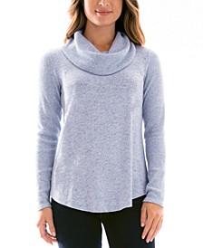 Juniors' Cowlneck Sweater