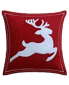 "20"" L x 20"" W Christmas Throw Pillow"
