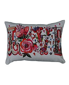 """14"""" L x 20"""" W Designer Throw Pillow for Couch"""