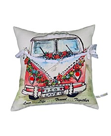 """Chios Home 18"""" L x 18"""" W Decorative Throw Pillow for Sofa"""
