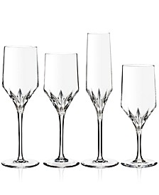 Peplum Stemware Collection