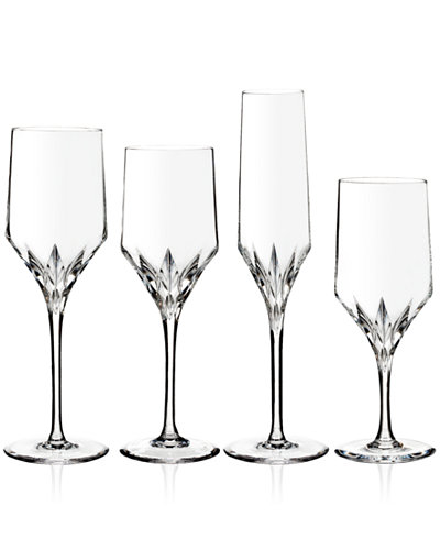 Vera wang wedgwood peplum stemware collection all glassware drinkware dining - Vera wang stemware ...