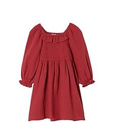 Toddler Girls Audrey Long Sleeve Dress