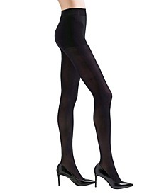 Women's Velvet Touch Opaque Control Tights Hosiery