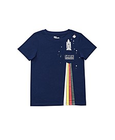 Little Boys Short Sleeve Graphic Tee