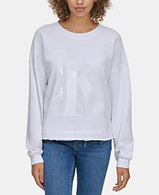 Sequin Graphic Sweatshirt