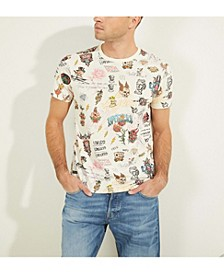Tattoo Doodles Graphic Tee
