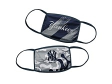 New York Yankees Kids Face Mask, 2-Pack
