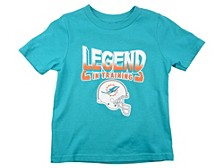 Miami Dolphins Toddler Legends Train T-Shirt