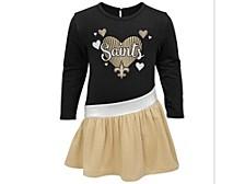 New Orleans Saints Toddler Girls Tunic Dress