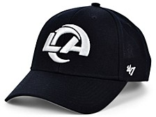 Los Angeles Rams Black & White MVP Cap