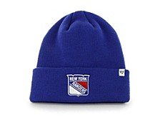New York Rangers Basic Cuff Knit Hat