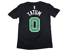 Boston Celtics Youth Statement Name and Number T-shirt Jayson Tatum