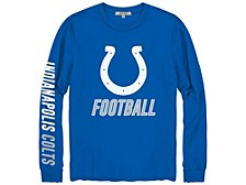 Indianapolis Colts Men's Zone Read Long Sleeve T-Shirt