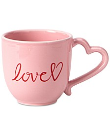 Martha Stewart Heart Mug, Created for Macy's