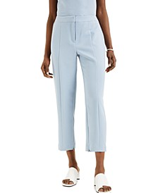 Straight-Leg Ankle Pants, Created for Macy's