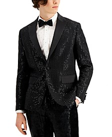 INC Men's Kyle Sequined Blazer, Created for Macy's