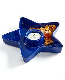 Star Chip & Dip Plate, Created for Macy's