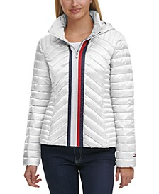 Quilted Zip Puffer Coat