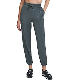 Velour Ribbed Joggers