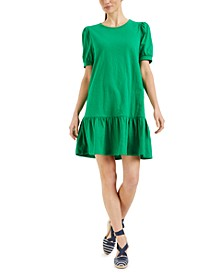 Ruffled-Hem T-Shirt Dress, Created for Macy's