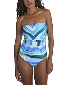 Bandeau One Piece Swimsuit
