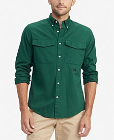 Men's Hargrove Custom-Fit Twill Utility Shirt