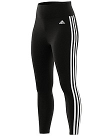 3-Stripe High-Waist Leggings