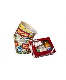 Vintage Complete Popcorn Gift Set