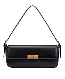 Claire Small Vegan Leather Shoulder Bag