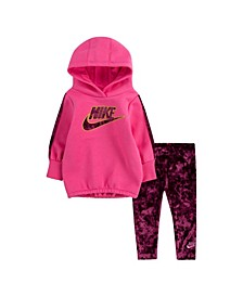 Little Girls Velour 2 Piece Legging Set