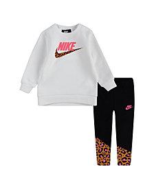 Nike Little Girls 2 Piece Legging Set