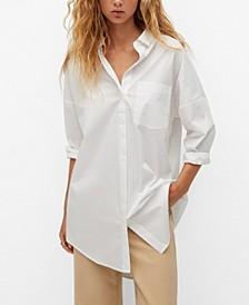 Women's Oversize Cotton Shirt