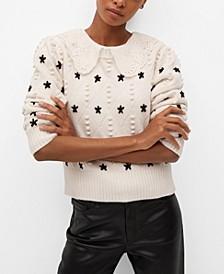 Women's Stars Knitted Sweater
