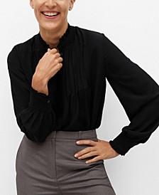 Women's Pin Tuck Detail Blouse