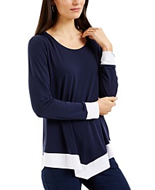Colorblocked Top, Created for Macy's