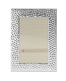 """Hammered Metal Picture Frame, 4"""" x 6"""""""