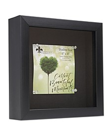 """Shadow Box Frame with Linen Display Board, 8"""" x 8"""""""