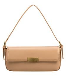 Claire Small Vegan Leather Shoulder Bag